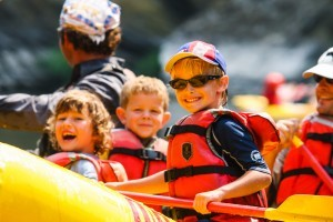 OARS - family rafting vacations with kids