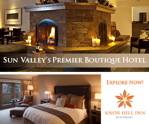 Knob Hill Inn - great Sun Valley winter packages : Close to Ketchum's downtown buzz and the outdoor fun of Bald Mountain, Knob Hill Inn offers personalized service, and a warm and inviting European charm. On-site, enjoy the 'Grill at Knob Hill' featuring distinctively unique Northwest cuisine sure to satisfy your palette.