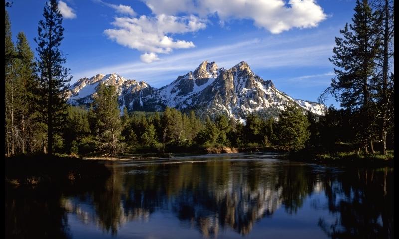 Sun Valley Idaho Sawtooth National Recreation Area