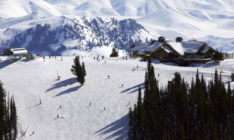 Sun Valley Idaho Winter Ski Resort