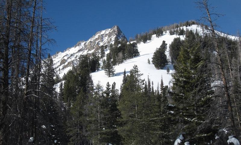 Skiers Peak Stanley Idaho Williams Peak Yurt Sawtooth Mountains Backcountry Skiing Winter