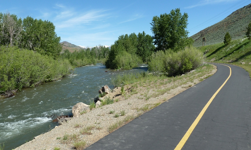 Big Wood River Trail in Sun Valley
