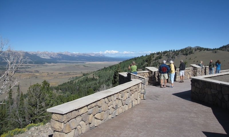 Galena Summit Overlook