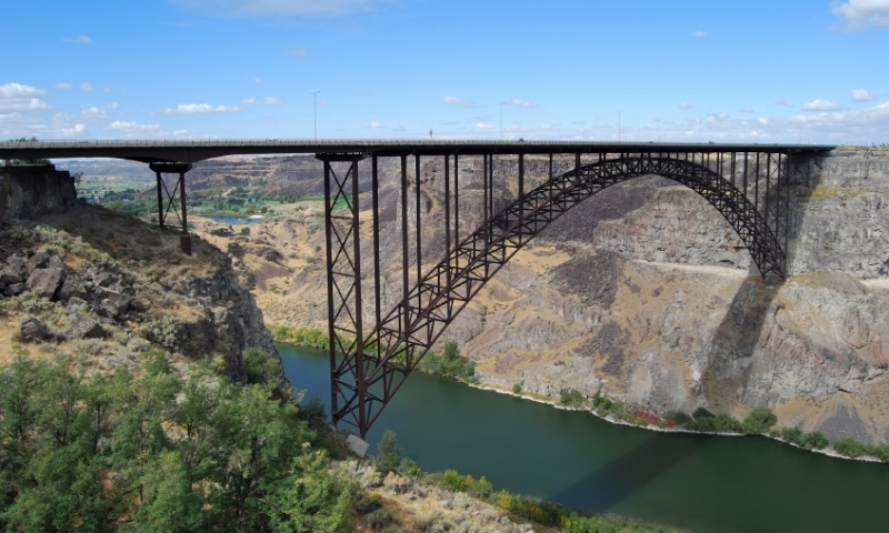 Bridge over the Snake River in Twin Falls