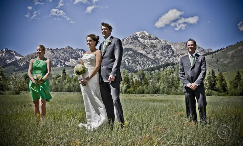 Wedding in Sun Valley Idaho