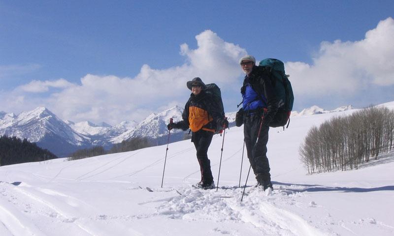 Backcountry Skiing near Sun Valley Idaho