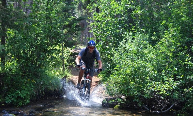Biking Sun Valley