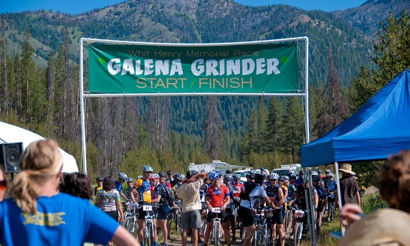 The Galena Grinder Mountain Bike Race