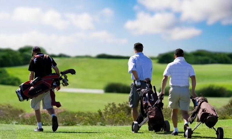 Golf Golfing