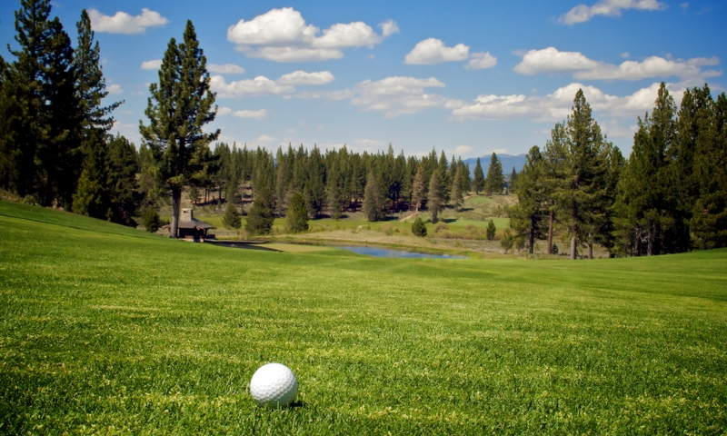 Golf Course Lake Tahoe Golfing