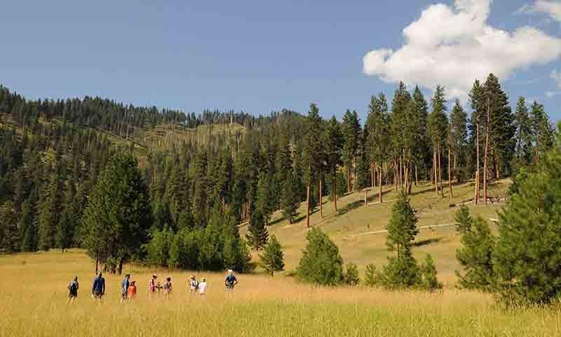 Hiking in Sun Valley Idaho