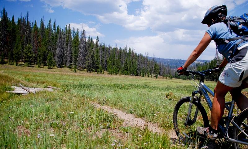 Biking Sun Valley Idaho