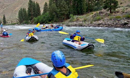 Sun Valley Idaho Whitewater Rafting