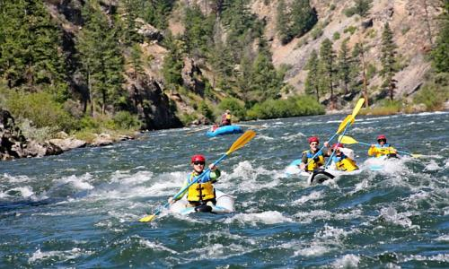 Sun Valley Idaho White Water Rafting