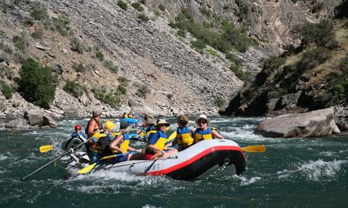 Sun Valley Whitewater Rafting