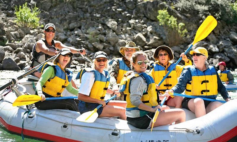 Sun Valley Idaho White Water Rafting