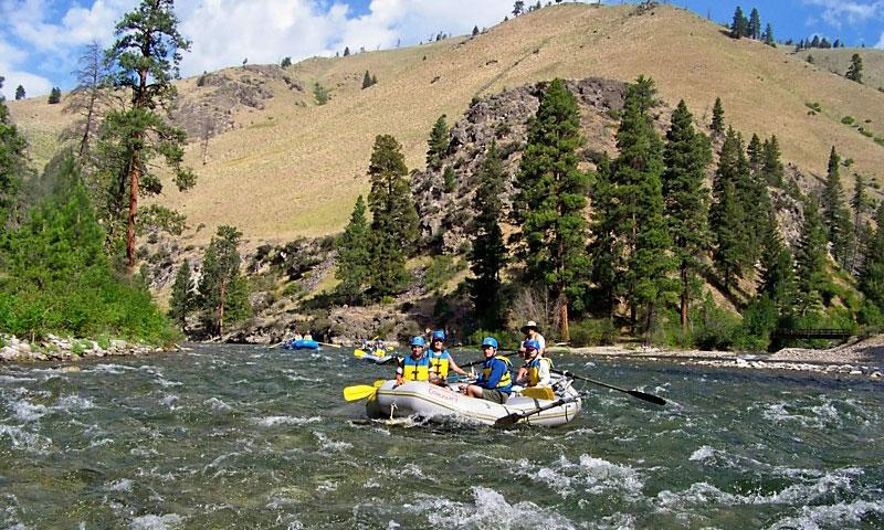 Whitewater Rafting the Middle Fork of the Salmon River