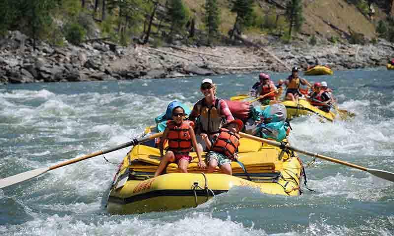 Whitewater Rafting in Sun Valley Idaho