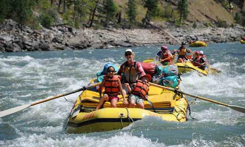 Whitewater Rafting in Sun Valley Idaho