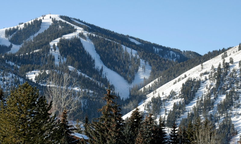Sun Valley Idaho Winter Ski Resort